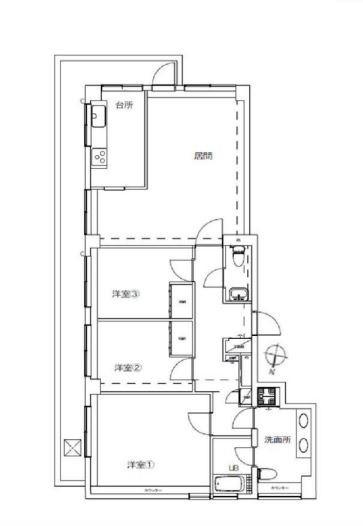 大田区山王4丁目 【賃貸居住】マンション