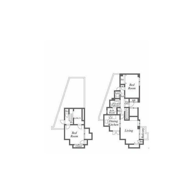 世田谷区駒沢5丁目 【賃貸居住】マンション