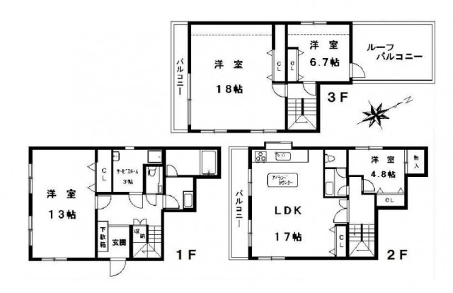 目黒区中央町2丁目 【賃貸居住】タウンハウス
