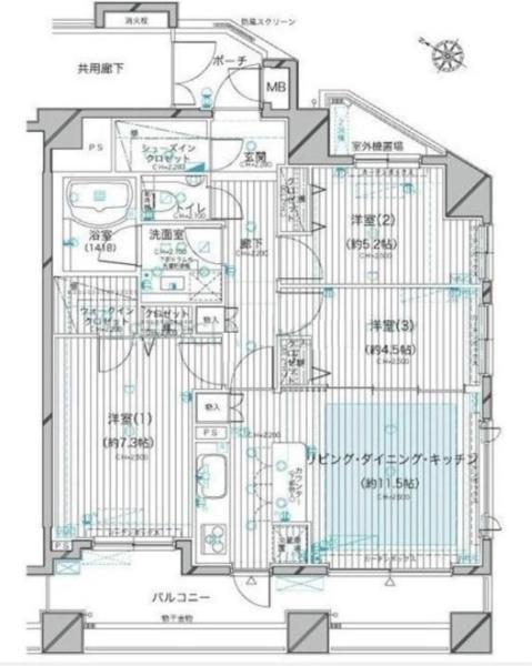 世田谷区三軒茶屋1丁目 【賃貸居住】マンション