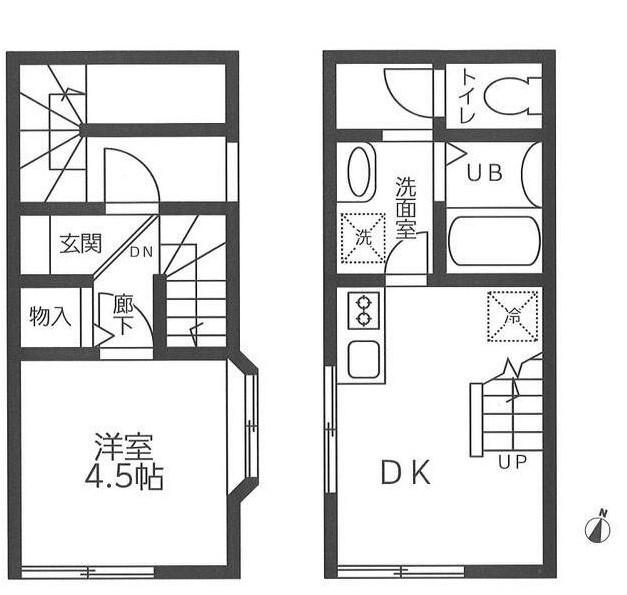 港区高輪1丁目 【賃貸居住】アパート