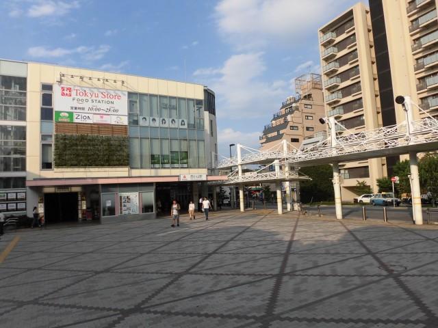 西小山駅.(周辺)