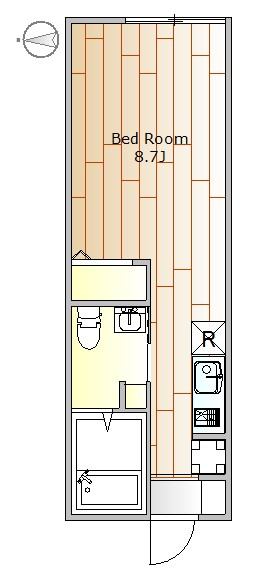 目黒区目黒本町6丁目 【賃貸居住】アパート