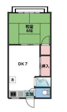 大田区雪谷大塚町 【賃貸居住】アパート