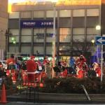 17時から祐天寺駅前にて、サンタさんが!?